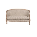Bergere Upholstered Settee