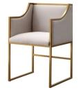 Atara Ivory Velvet Chair