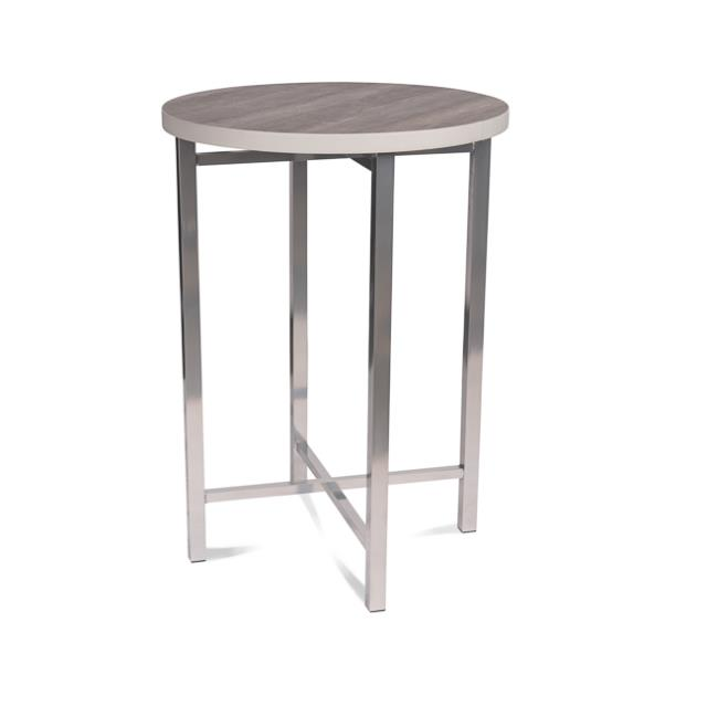 42 inch x 30 inch Round Linen-Less Cocktail Table