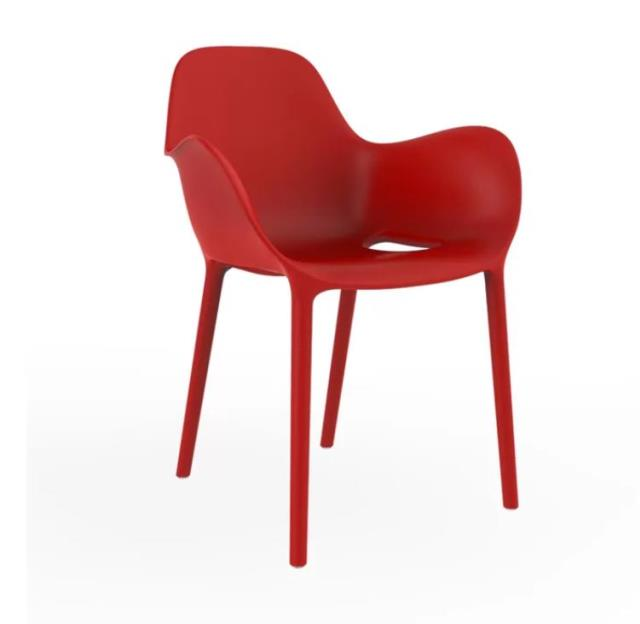 Red Sabinas Patio Chair