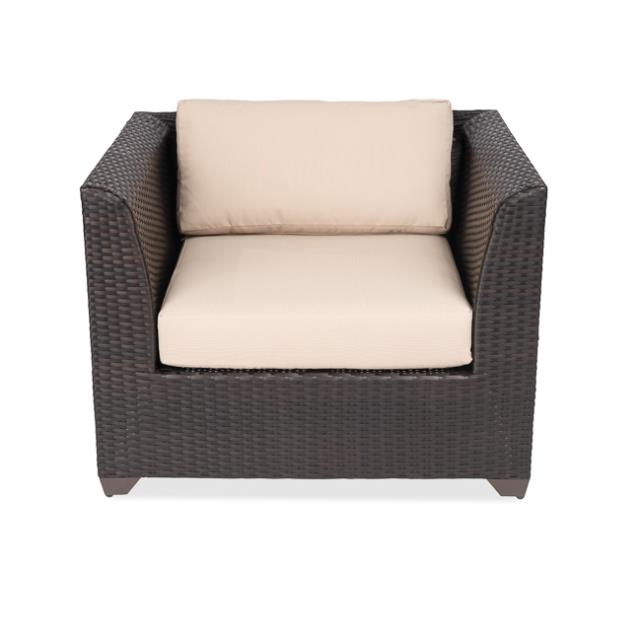 Medley Black Armchair Wheat Cushion