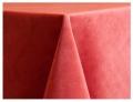 Coral Velvet Tablecloths