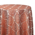 Rust Delta Global Tablecloths