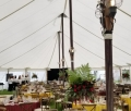 Lighted Tent Pole with Onion Lantern