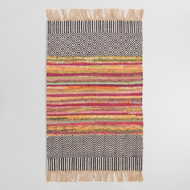 2 x 3 Chindi Reversible Area Rug