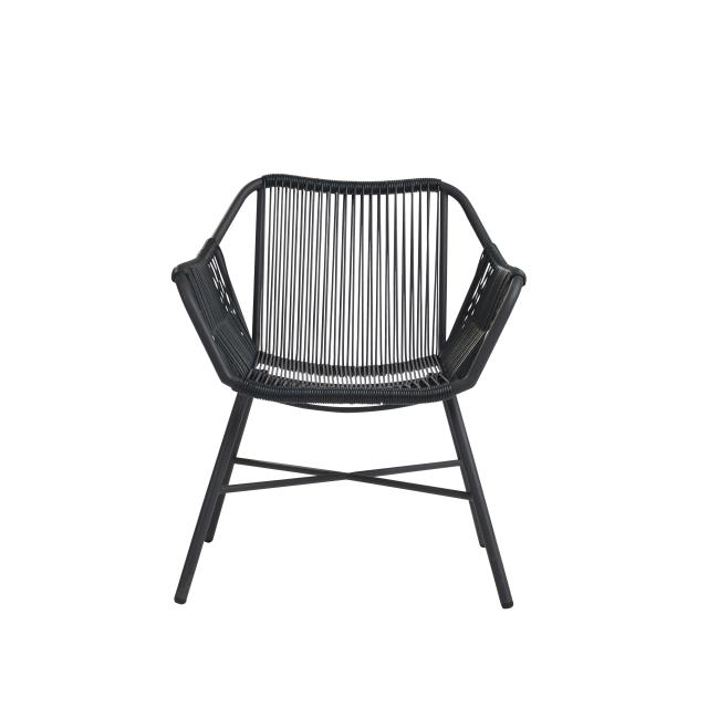 Grey String Patio Chair