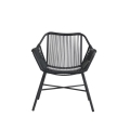 Gray String Patio Chair