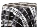 Black Buffalo Check Poly Tablecloths