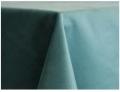 Ocean Blue Velvet Tablecloths
