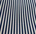 Navy Morgan Stripe Panama Napkin Pack of 12