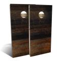 Wood, Dark Brown CornHole Game Set