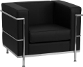 Black Regal Armchair