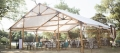 50 foot Wide Wood Beam Frame Tent