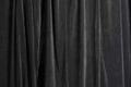 """58"""" x 32' Black Velour Drape Panels"""