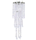 Iridescent 36 inch Beaded Chandelier