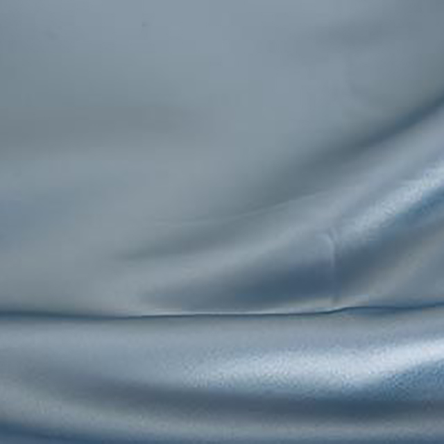 12 x 96 inch Steel Blue Satin Runner