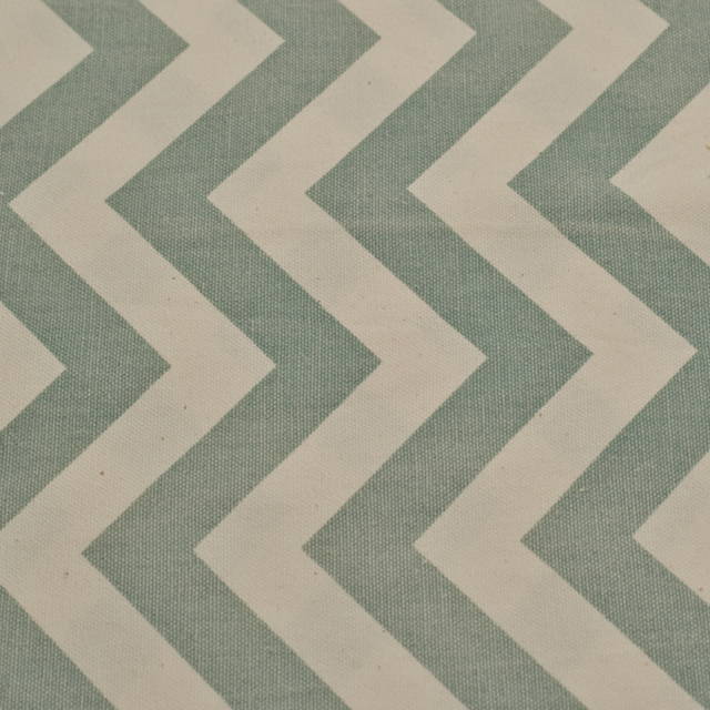 14 x 108 inch Turquoise Chevron Poly Runner
