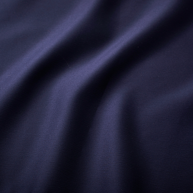 14 x 108 inch Navy Blue Satin Runner