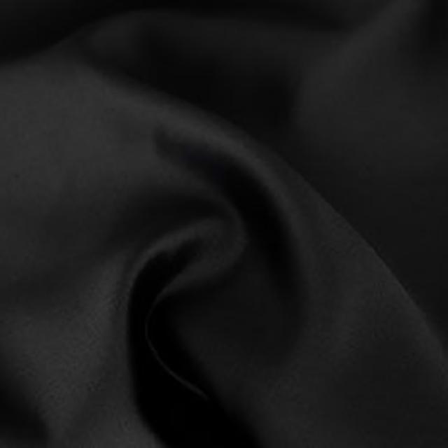 Black Satin Chair Tie