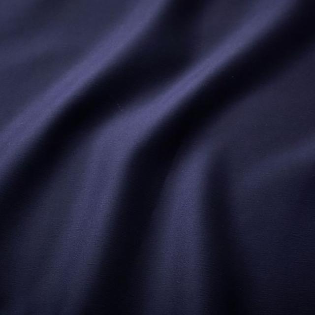 Navy Blue Satin Chair Tie