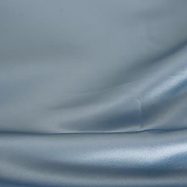 Steel Blue Satin Chair Tie
