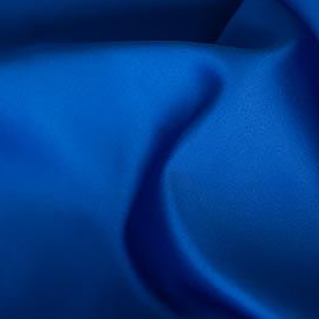 Royal Blue Satin Chair Tie