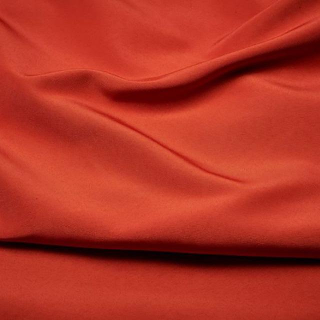Orange Burnt Satin Chair Tie